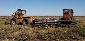 Servicio de limpeza de campos, renovales, desmontes, rolados, etc.111