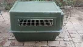 Caja de transporte carry kennel 500 (la más grande)