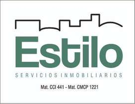 ESTILO SERVICIOS INMOBILIARIOS - SEMIPISO EN BARRIO CONSTITUYENTES