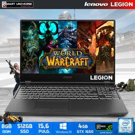 Laptop Lenovo LEGION GAMER i7 9na Gen. 8Gb+ 512Gb SSD  Win10