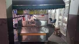 Carreta de comida rapida 400 negociable en buen estado con todos sus accesorios  completo