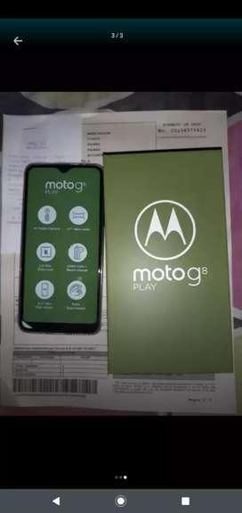 Cel barato! Moto g8 play 32 GB!