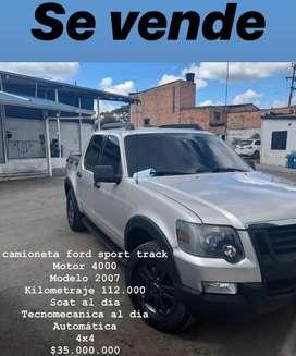 Camioneta Ford Sport Trac