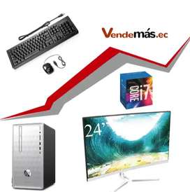 Computador 24 Pulgadas Cpu Hp I7 8va 8gb Optan 16gb Wifi 1tb