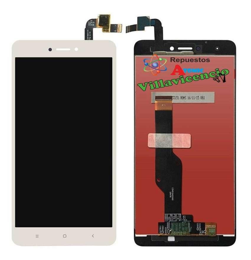 Display Xiaomi Redmi Note 4 Blanco / REPUESTOS ATOMIC VILLAVICENCIO