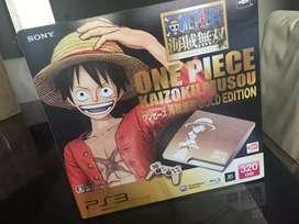 CONSOLA PS3 SLIM edición one piece