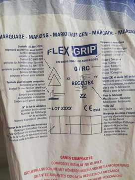 Guantes Dieléctricos 1000 Voltios Flex & Grip Nuevos