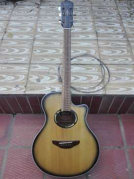 vendo guitarra electroacústica yamaha apx