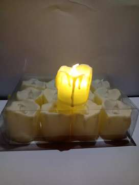 Velas Led para decoración.