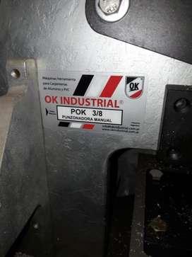 Carpinteria Aluminio; Punzonadora; copiadora y Frezadora