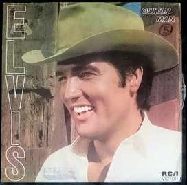 ELVIS PRESLEY guitar man 1981 LP