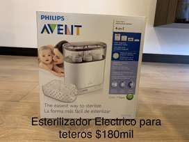 Esterilizador eléctrico de teteros Philips Avent