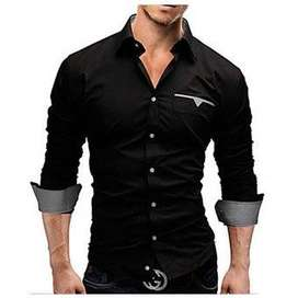 satélite para confección de camisa masculina