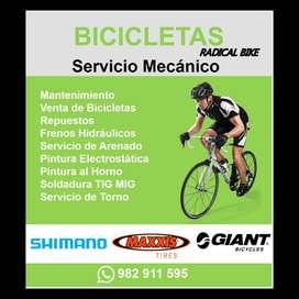 Reparacion de Bicicletas a domicilio