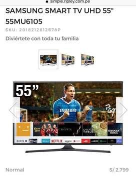Remato smart tv sansumg UHD 55 pulgadas