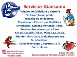 TRABAJOS DE SOLDADURA Y HERRERIA