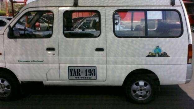 Transporte de Pasajeros en Van de servicio especial