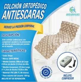 DE OPORTUNIDAD VENDO COLCHÓN ANTIESCARAS, INCLUYE COMPRESOR