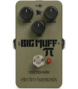 EHX Green Russian Big Muff Pi Fuzz