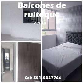 APARTAMENTO BALCONES DE RUITOQUE. DOBLE PARQUEADERO-FLORIDABLANCA
