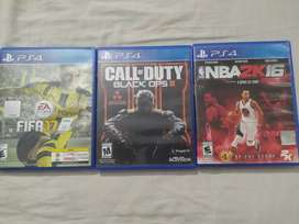 FIFA 17 - COD: Black Ops 3 - NBA 2K16