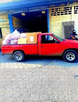 Fletes mudanzas camioneta grande balde largo :)