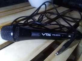 Micrófono VTA Alambrico