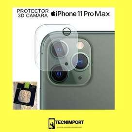 iPhone 11 Pro Max Mica Protectora vidrio camara trasera