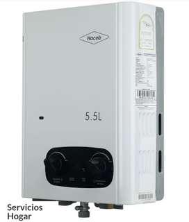 Calentador Haceb 5.5 litros 2 años de garantía $ 510.000
