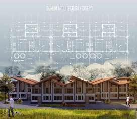 Diseños arquitectónicos para permisos de construcción