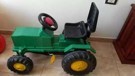 Tractor a pedal rondi