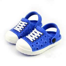 Sandalias Suaves tipo Zuecos Azules