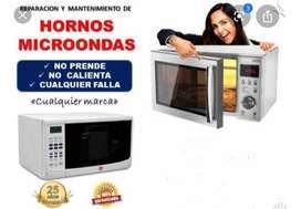 Reparacion microondas y electrodomesticos