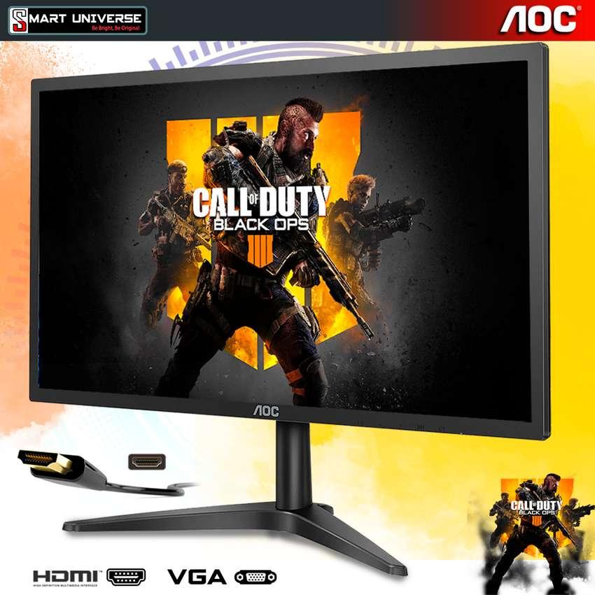 Monitor Led Aoc 22 Pulgadas 22b1h  HDMI - VGA Full Hd 1920x1080 0