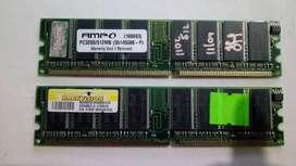 PROMOCIÓN MEMORIAS RAM  DDR 400 MHZ DE 512MB PC 3200 DE ALTA CALIDAD