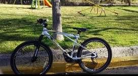 Vendo bicicleta rodado 26 como nueva  impecable