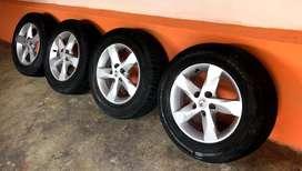 Aro R16 Nissan Original + Llanta