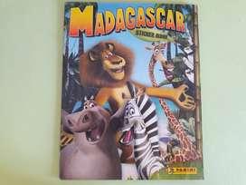 Art 205 Album de Figuritas Madagascar con 25 Figuritas
