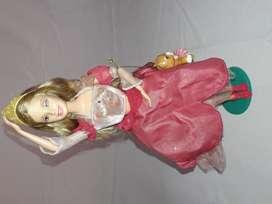 Barbie Princesa Bailarina Usada gira la falda