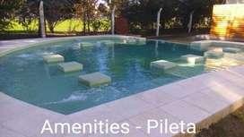 Villa Allende Complejo cerrado 2 dor  2 bañ Balcón Asador, en el ingreso Country San Isidro  Estacionamiento - PILETA