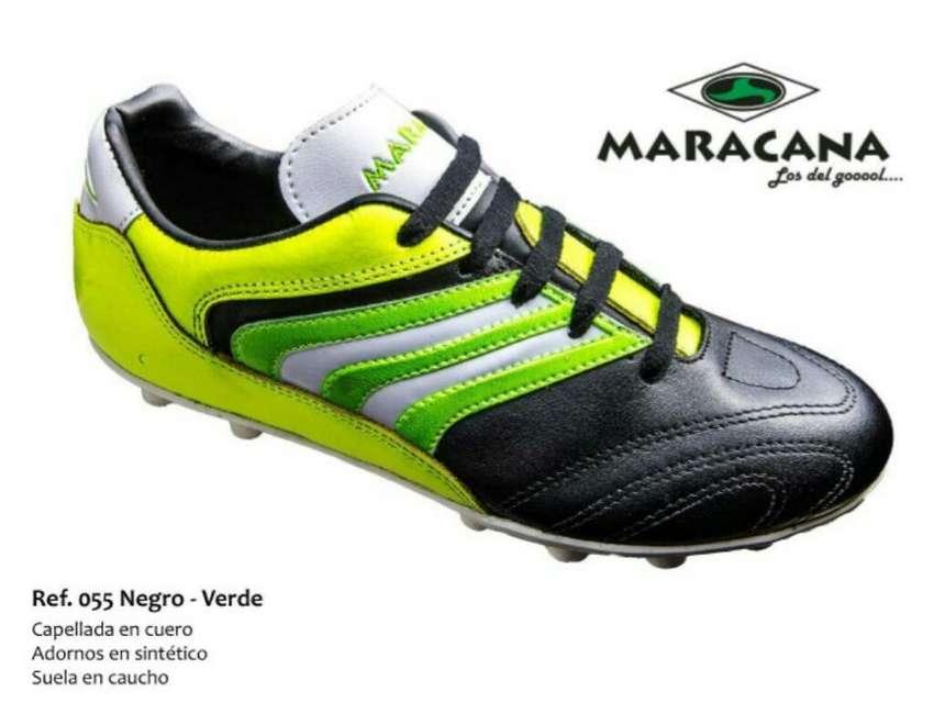 Guayo de Fútbol en Cuero MARACANA 100% original. 0