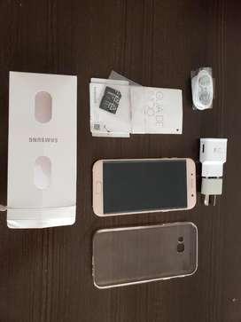 Samsung A7 Rosa Liberado Impecable