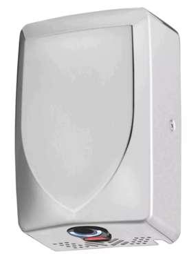 Secador de manos Miniturbo Acero Inoxidable Brillante, Satinado o Blanco de secado rápido