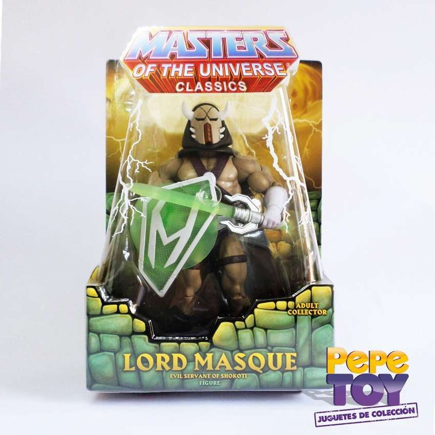 Masters of the Universe Classic Lord Masque 0