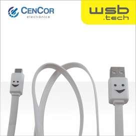 Cable Micro Usb Luminoso Wsb.tech