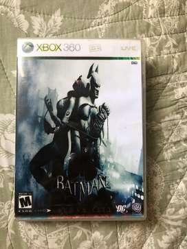 juego BATMAN para xbox 360