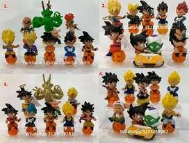 Dragon Ball mini figuras 6 cm – 8cm. Colección x 8
