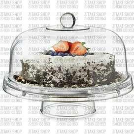 Porta Torta 5 en 1 de Vidrio