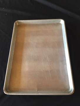 Bandejas latas para panaderia y pasteleria pan aluminio 45x32.5 sirve para UNOX ANNA LISA XF023 XF013