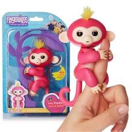 Fingerlings Juguete Bebé Mono O Unicornio Mascota Amigo Dedo